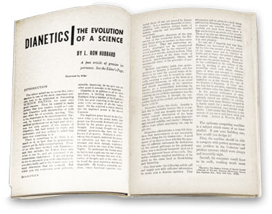 Original magazine where Dianetics: The Evolution of a Science first appeared